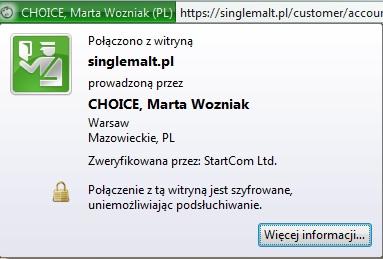 SingleMalt.pl - właściciel domeny