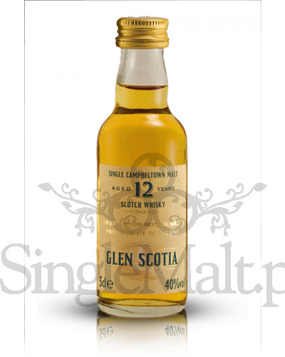 Glen Scotia 12 Years Old / 40% / miniaturka 0,05 l