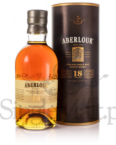 Aberlour 18 Years Old / 43% / 0,7 l