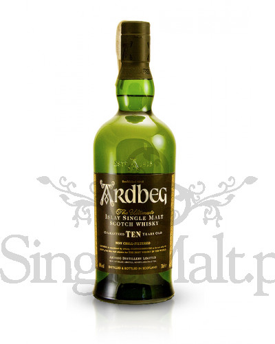 Ardbeg 10 Years Old / Escape +2 szklanki / 46% / 0,7 l