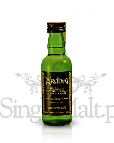 Ardbeg 10 Years Old / 46% / miniaturka 0,05 l