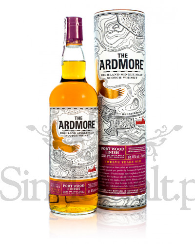 Ardmore 12 YO / Port Wood Finish / 46% / 0,7 l