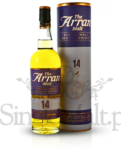 Isle of Arran 14 Years Old / 46% / 0,7 l