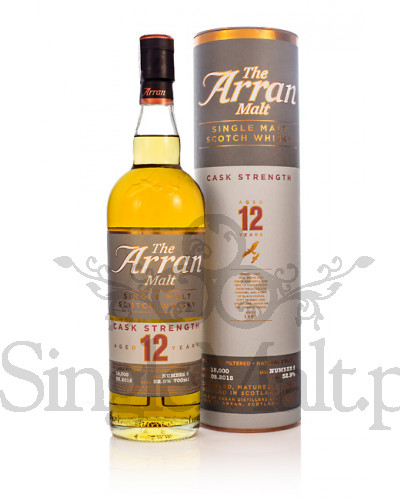 Isle of Arran 12 Years Old Cask Strength (batch 5) / 52,9% / 0,7 l