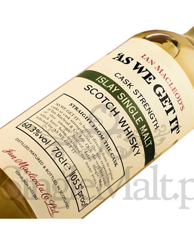 As We Get It / Islay Single Malt / 60,3% / 0,7 l