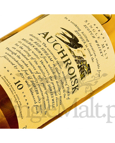 Auchroisk 10 Years Old 'Flora & Fauna' / 43% / 0,7 l
