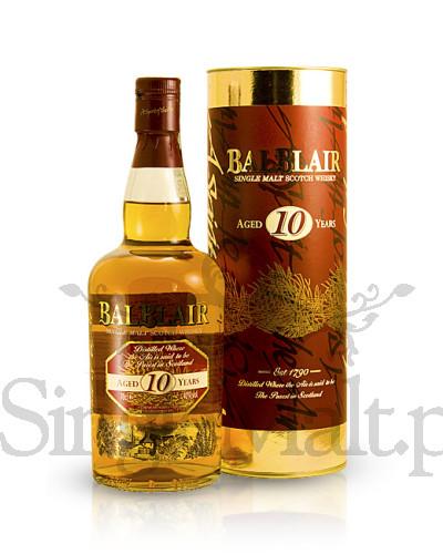 Balblair 10 Years Old / 40% / 0,7 l