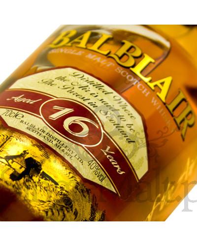 Balblair 16 Years Old / 40% / 0,7 l