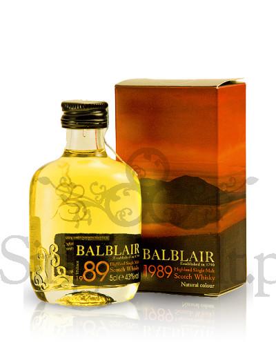 Balblair 1989 Vintage / 43% / miniaturka 0,05 l