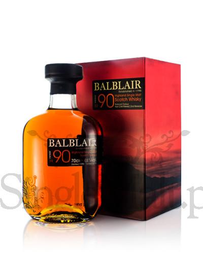 Balblair 1990 Vintage / 2nd release / 2014 / 46% / 0,7 l