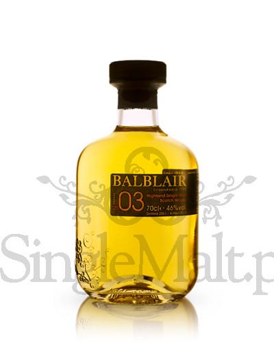 Balblair 2003 Vintage / 1st release / 2015 / 46% / 0,7 l