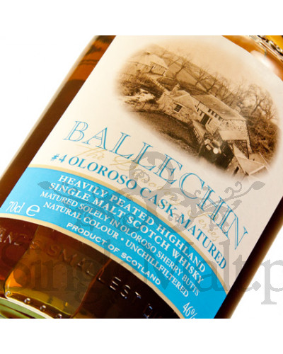 Ballechin #4 / Oloroso Cask Matured / 2009 / 46% / 0,7 l