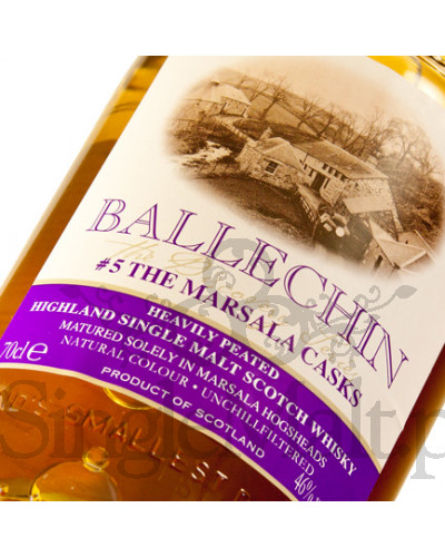Ballechin #5 / Marsala Cask Matured / 2010 / 46% / 0,7 l