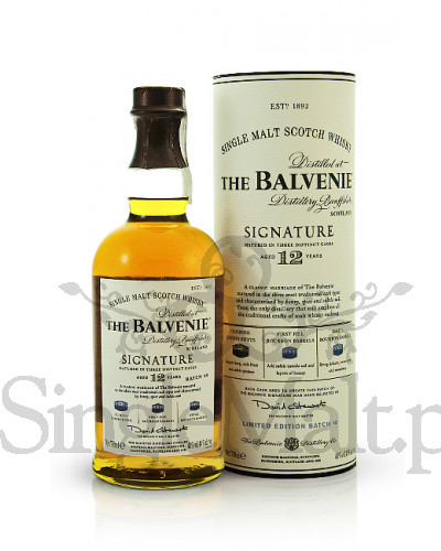 Balvenie 12 Years Old Signature / 40% / 0,7 l