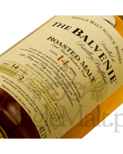 Balvenie 14 Years Old Roasted Malt / 47,1% / 0,7 l