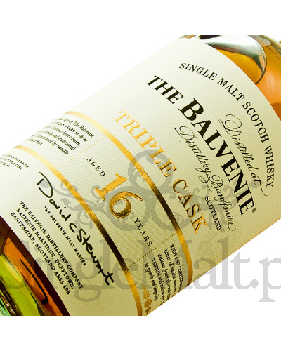 Balvenie 16 Years Old Triple Cask / 40% / 0,7 l