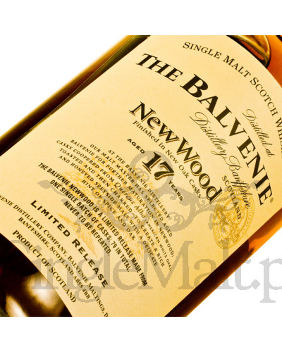 Balvenie 17 Years Old New Wood / 40% / 0,7 l