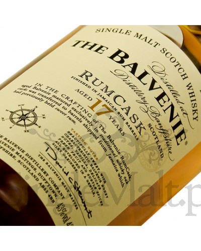 Balvenie 17 Years Old Rum Cask / 43% / 0,7 l