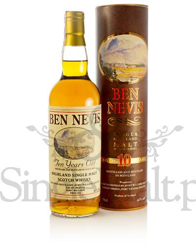 Ben Nevis 10 Years Old / 46% / 0,7 l