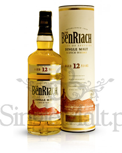 BenRiach 12 Years Old / 43% / 0,7 l