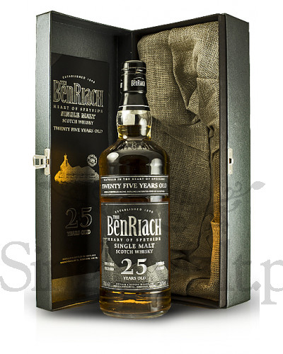 BenRiach 25 Years Old / 50% / 0,7 l