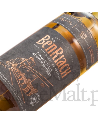 BenRiach 10 Years Old / 43% / 0,7 l