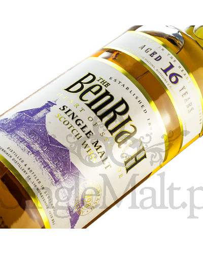 BenRiach 16 Years Old / 43% / 0,7 l