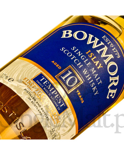 Bowmore 10 Years Old Tempest (batch 4) / 55,1% / 0,7 l