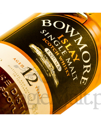Bowmore 12 Years Old  / Enigma / 40% / 1,0 l