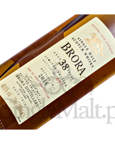 Brora 38 Years Old / Diageo Special Release 2016 / 48,6% / 0,7 l