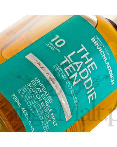 Bruichladdich Laddie Ten / The Classic Ten / 10 Years Old / 46% / 0,7 l