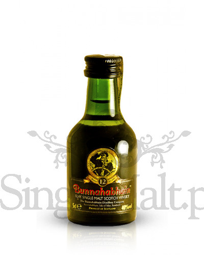 Bunnahabhain 12 Years Old / 40% / miniaturka 0,05 l
