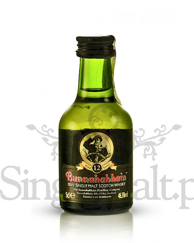 Bunnahabhain 12 Years Old / 46,3% / miniaturka 0,05 l