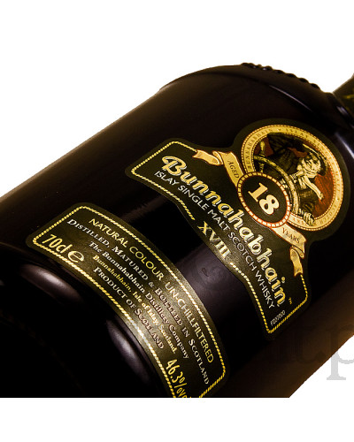 Bunnahabhain 18 Years Old / XVIII / 46,3% / 0,7 l