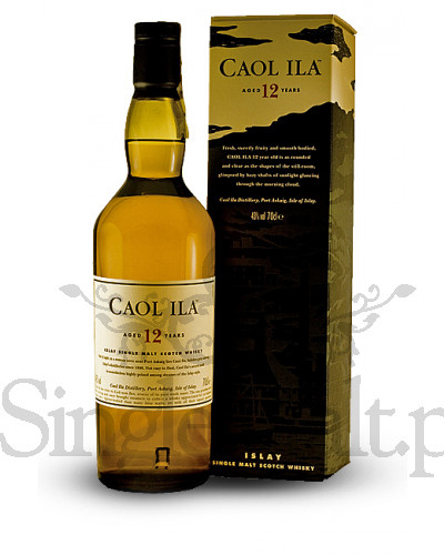 Caol Ila 12 Years Old  / 43% / 0,7 l