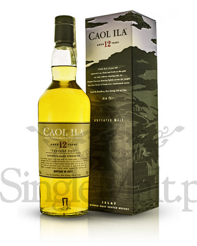 Caol Ila 12 Years Old Cask Strength / Unpeated style / 2011 / 64% / 0,7 l