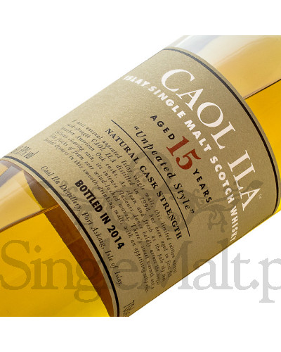 Caol Ila 15 Years Old Cask Strength / Unpeated style / 2016 / 61,5% / 0,7 l