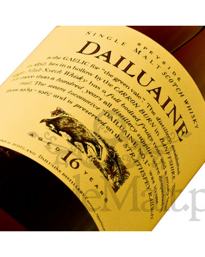 Dailuane 16 Years Old 'Flora & Fauna' / 43% / 0,7 l
