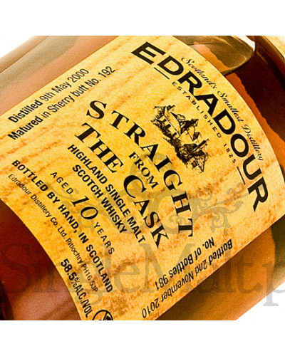 Edradour Straight from The Cask / Sherry / 58,6% / 0,5 l
