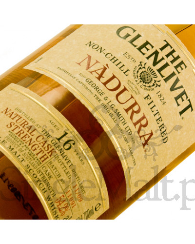 Glenlivet 16 Years Old Nadurra (batch 1110L) / 2010 / 55,1% / 0,7 l