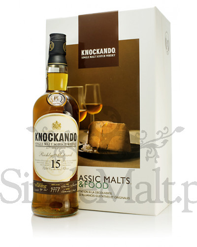Knockando 15 Years Old (malt & food) / 1997 / 43% / 0,7 l