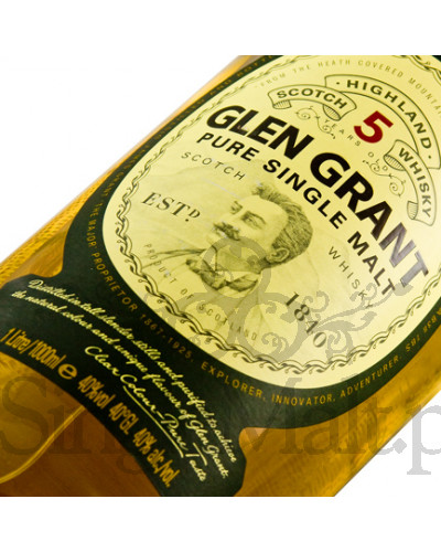 Glen Grant 5 Years Old / 40% / 1,0 l