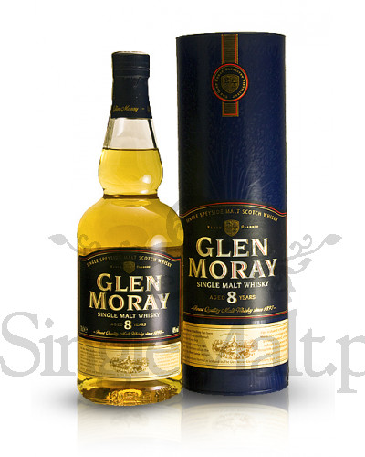 Glen Moray 8 Years Old / 40% / 0,7 l