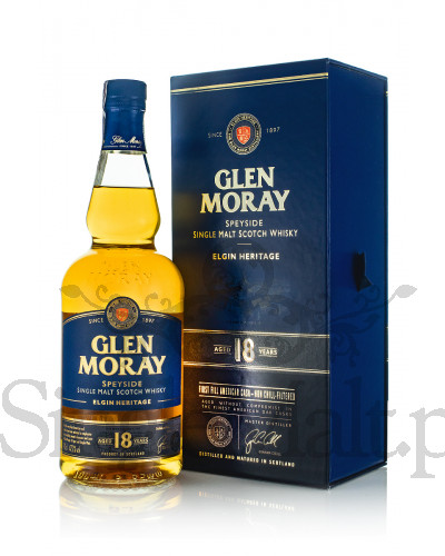 Glen Moray 18 Years Old / 47,2% / 0,7 l