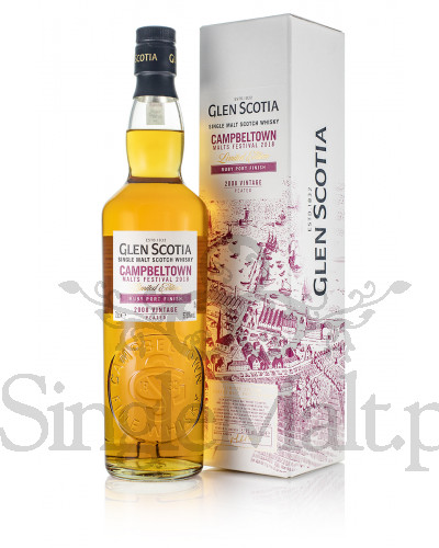 Glen Scotia 2008 Vintage / Peated / Ruby Port Finish / 57,8% / 0,7 l