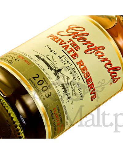Glenfarclas 2003 The Private Reserve / 46% / 0,7 l