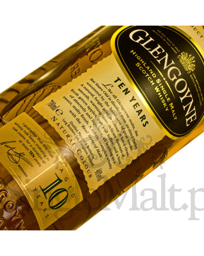 Glengoyne 10 Years Old 'Art of Glengoyne' / 40% / 0,7 l