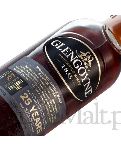 Glengoyne 25 Years Old / 46% / 0,7 l (skrzynka)