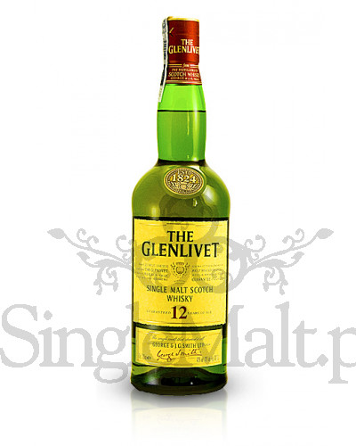 Glenlivet 12 Years Old / 40% / 1,0 l