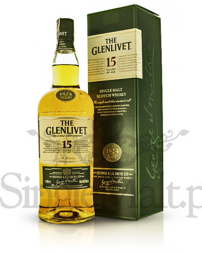 Glenlivet 15 Years Old / 40% / 1,0 l
